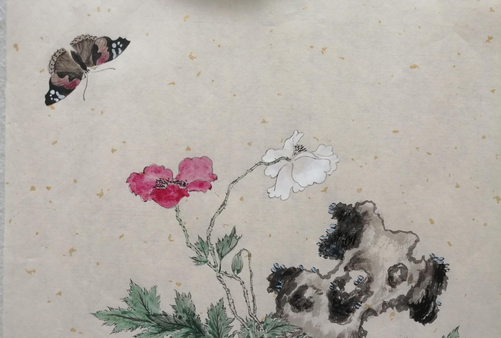 寄情中国书画,沉迷丹青水墨。