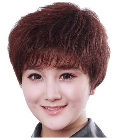 以上几款适合40岁女人短卷发发型,轻松打造出优雅减龄的造型.