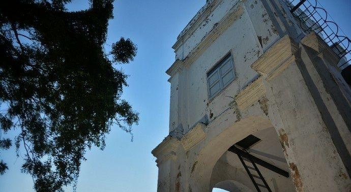 圣地亚哥城堡在圣保罗山脚下,是一座历史悠久的城堡
