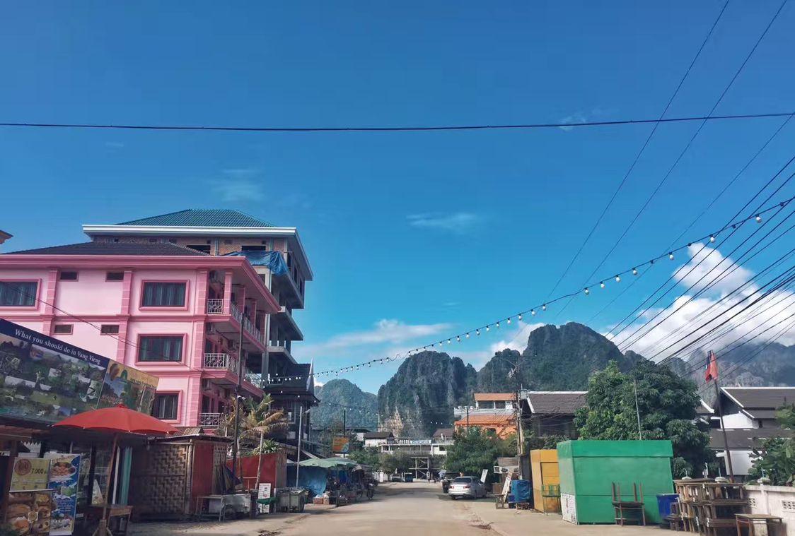 老挝的小桂林:万荣
