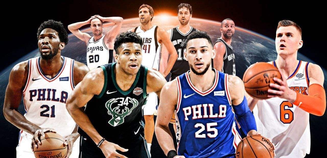 """NBA国际球员,历史最佳阵容,天才后卫""""篮球莫扎特""""堪比乔丹"""