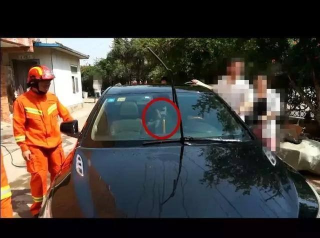 高温天气,2岁幼童和钥匙都被锁车内!父母们都要注意了啊
