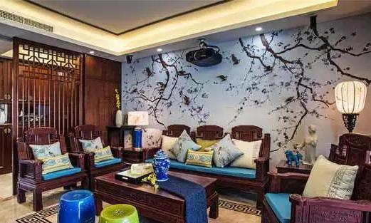 三代同堂的四居室,新中式装修风格成就古典、优雅美家!