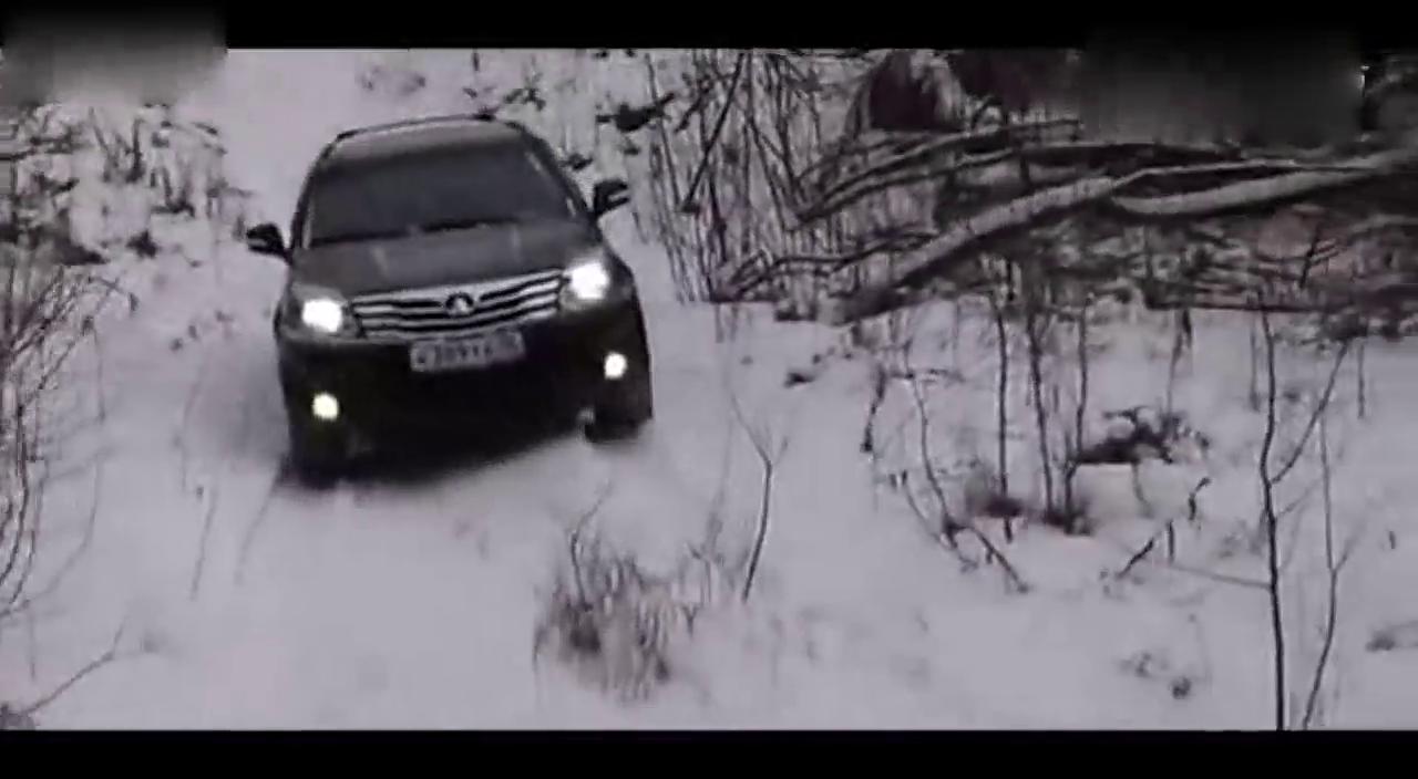 视频:哈弗H3在西伯利亚玩越野,给国人长脸了