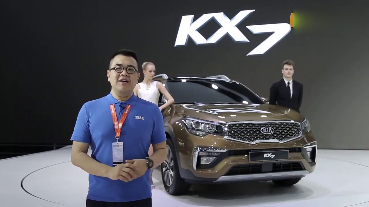 视频:suv在添一员猛将 中型SUV新秀 车展解读起亚KX7