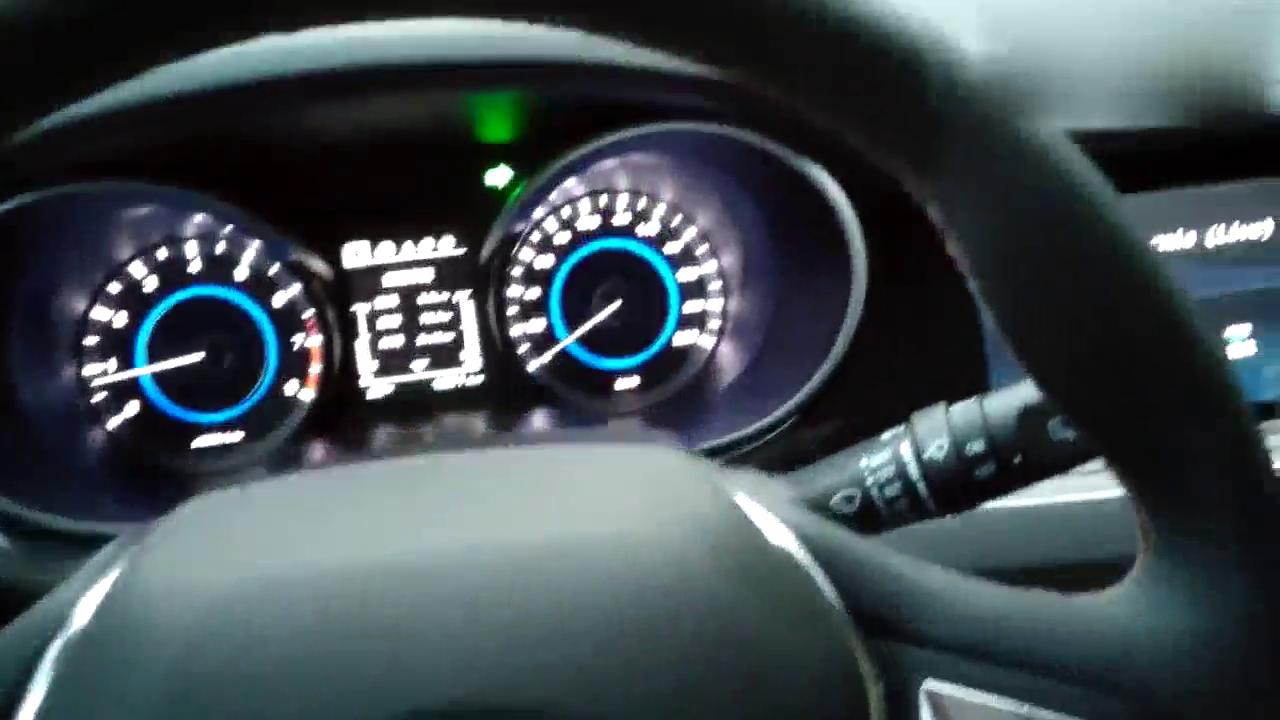 长安逸动一脚地板油,转速直飙6500转,大家感受一下国产车的加速
