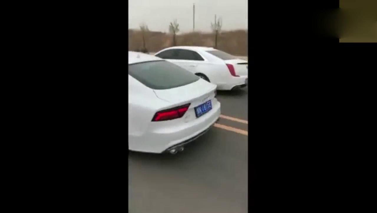视频:新款凯迪拉克XTS与奥迪A7加速比赛,这提速太快竟然不相上下!