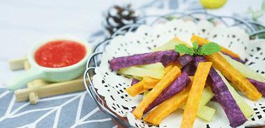 给宝宝吃薯条,就得这样做,健康不油腻!好吃,还能补充膳食纤维
