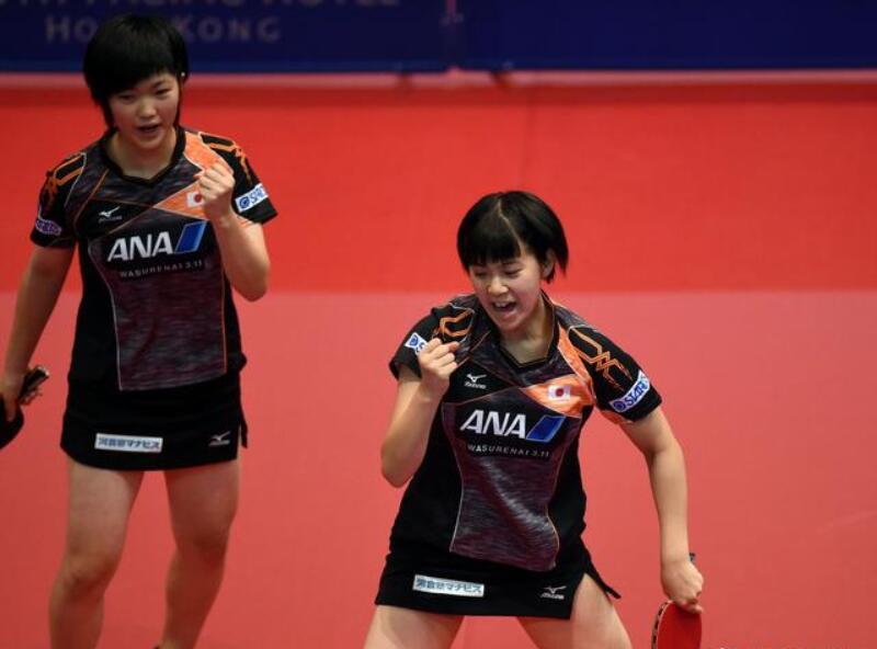 奥公赛日乒一日收双冠!00后组合女双夺魁 决胜局7-0打崩中国台北