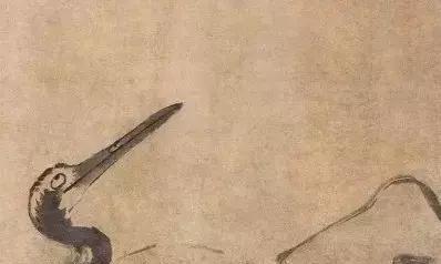 八大山人的《松鹤图》