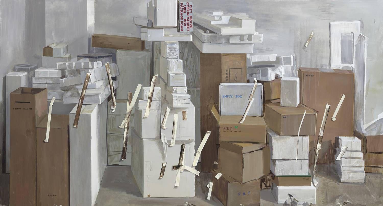 油画作品来自中国艺术研究院中国油画院研修班教师仝紫云