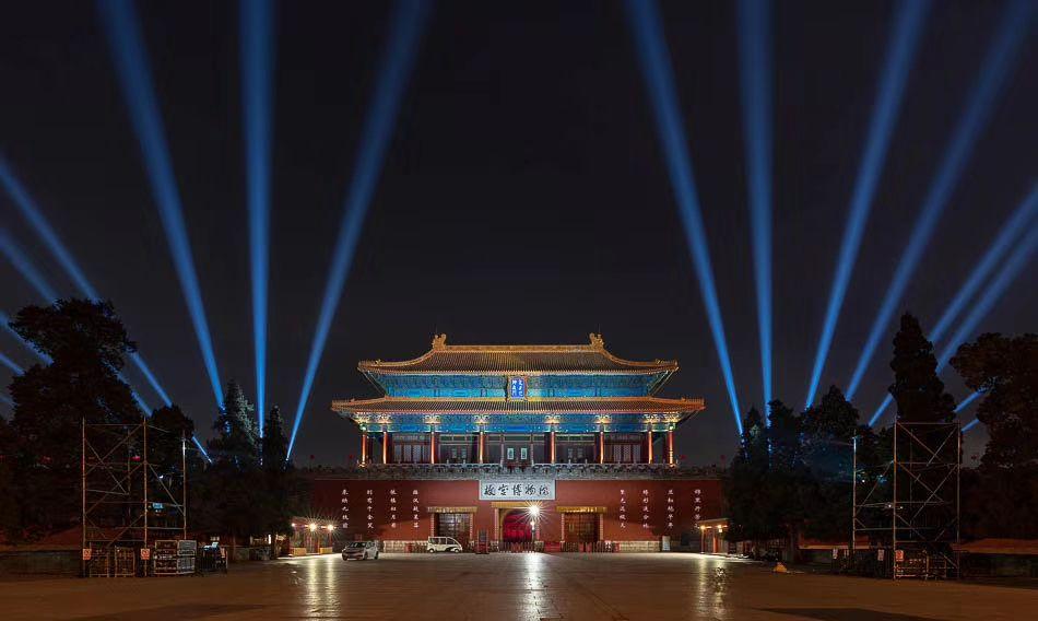 月圆之夜紫禁之巅 元宵灯会 94年首次夜间开放 照亮百年紫禁城