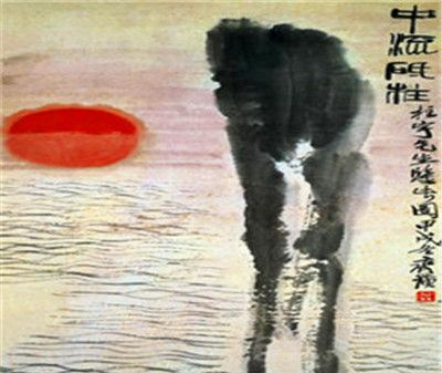 齐白石的山水画,比起历代名家也是毫不逊色