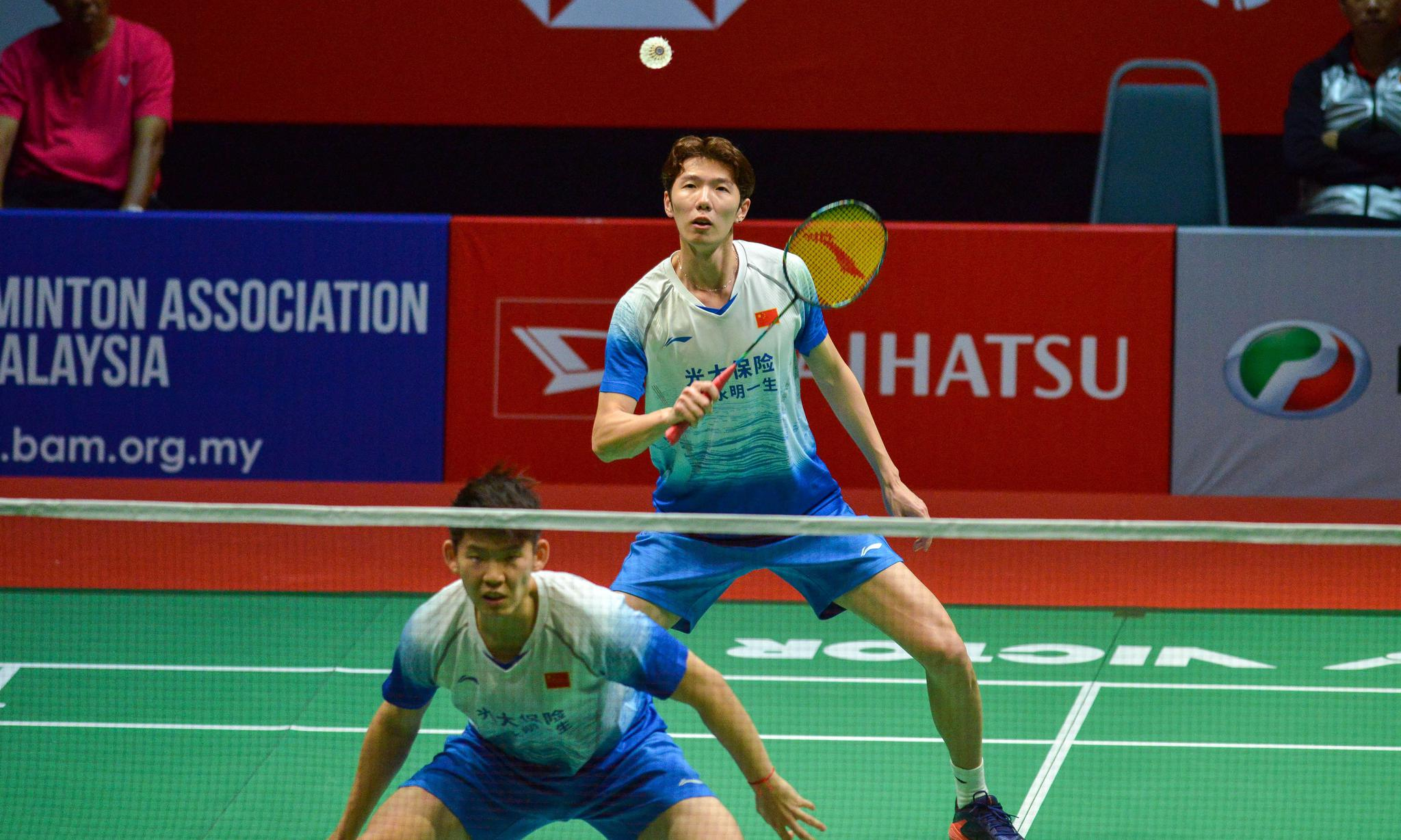 羽毛球——马来西亚大师赛:李俊慧/刘雨辰晋级