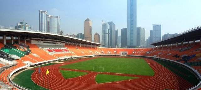 天河体育中心,广州最大的体育场!