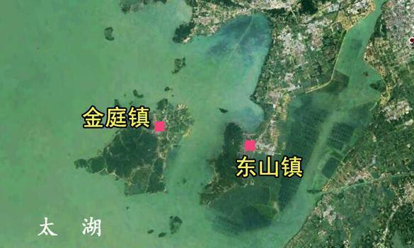 江苏苏州一个镇,位于太湖的半岛之上,是国家历史文化名镇