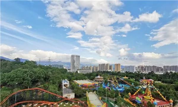 """福州小""""迪士尼""""来了!市区唯一的嘉年华游乐场重装开业"""