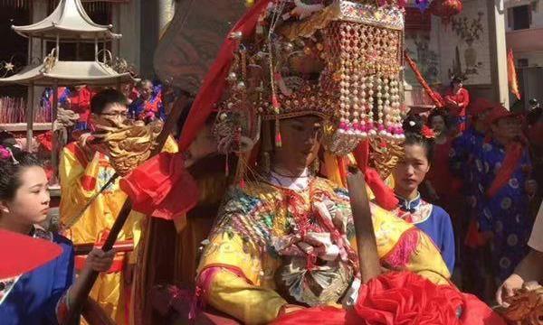 莆田湄洲岛举行系列活动纪念妈祖信俗成功申遗10周年