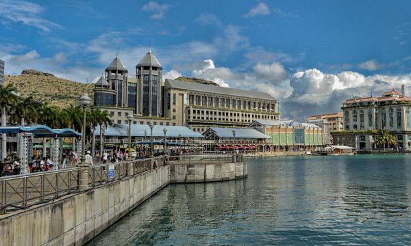 美丽的毛里求斯,景色优美,风景靓丽,充满了浪漫