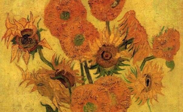 名画欣赏:送你一朵梵高的花