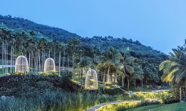 三亚万科森林湿地公园景观