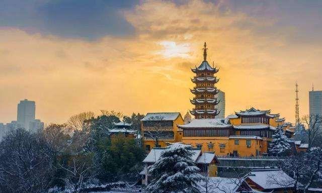 鸡鸣寺 五:位于南京市玄武区鸡笼山东麓山阜上,又称古鸡鸣寺