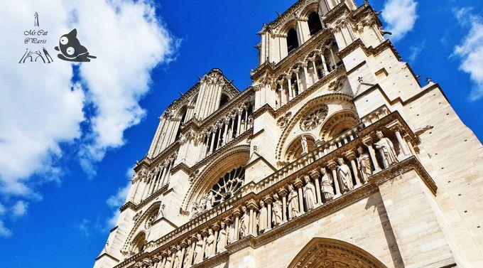 180多年才建成的巴黎圣母院,天主教巴黎总教区的主教座堂