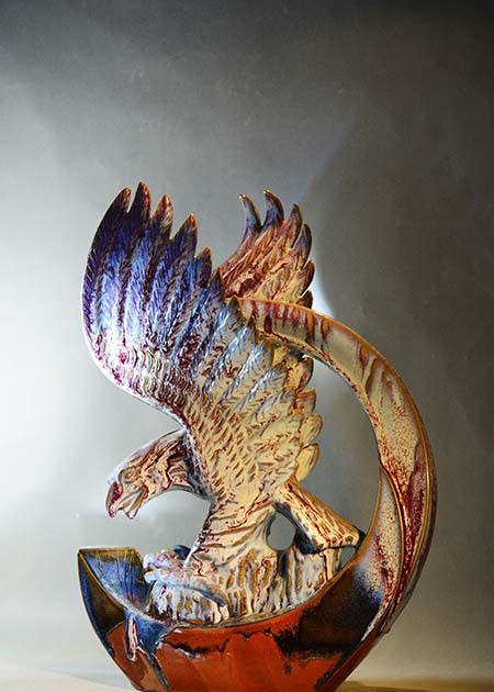 贺文奇钧瓷工匠 作品展,拥有原创精神的钧瓷人