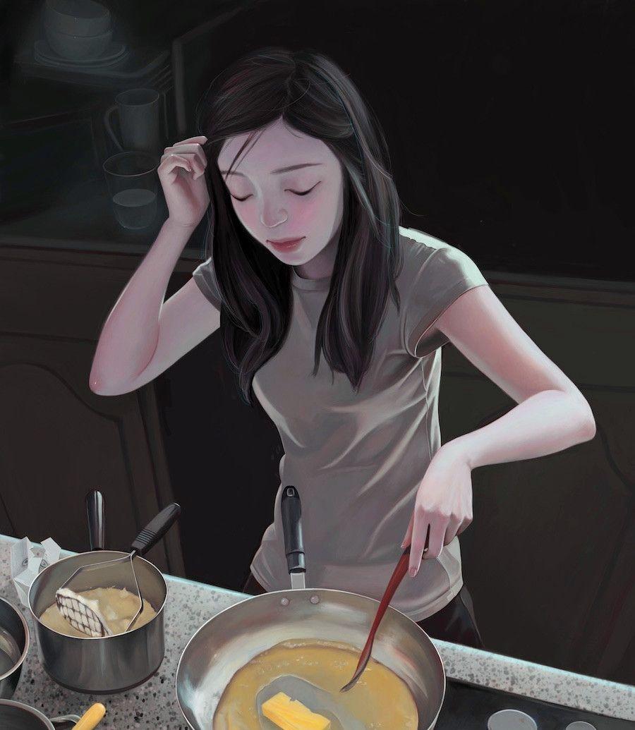 Joanne Nam插画作品欣赏
