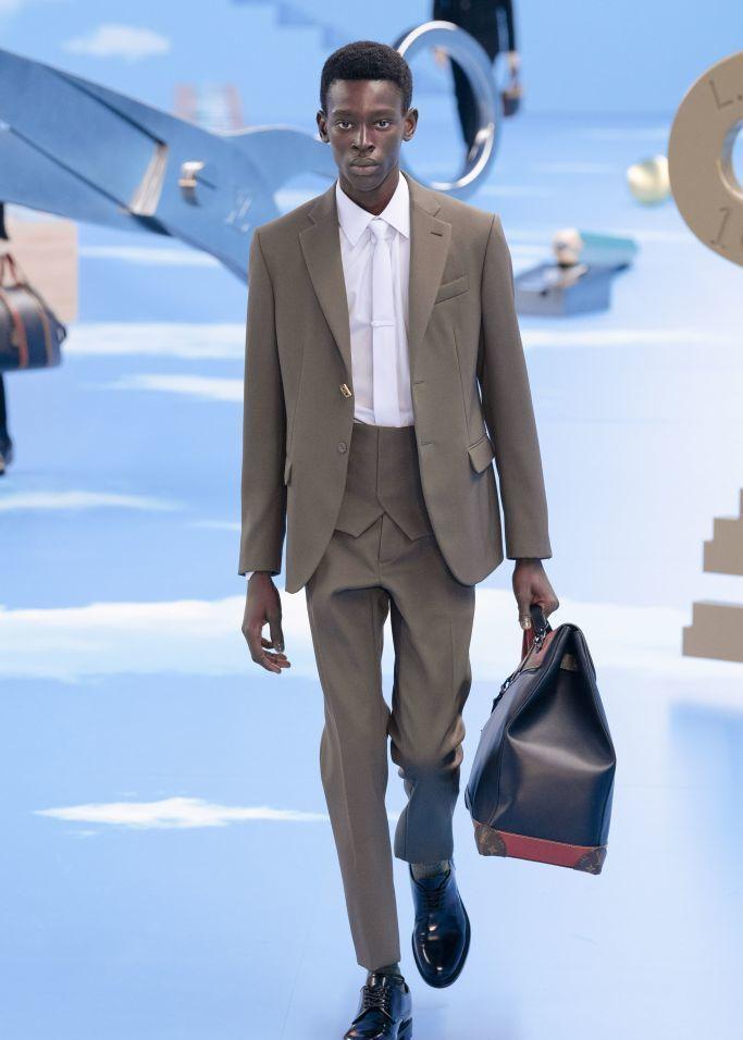 2020米兰时装周,Louis Vuitton秀场
