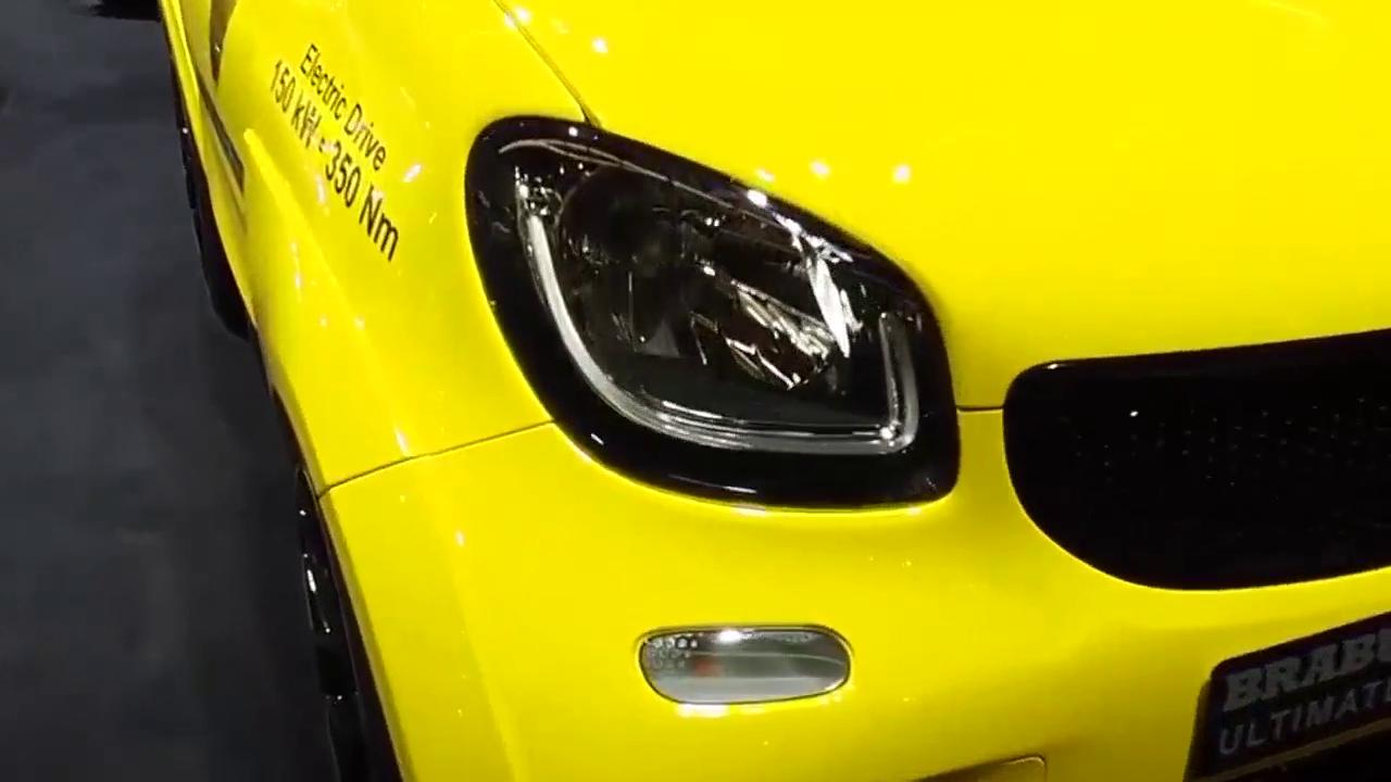 视频:新能源钢炮 巴博斯smart电动版上市
