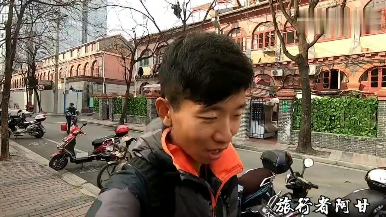 上海这个住宅楼建成于90年前当时的顶级豪宅