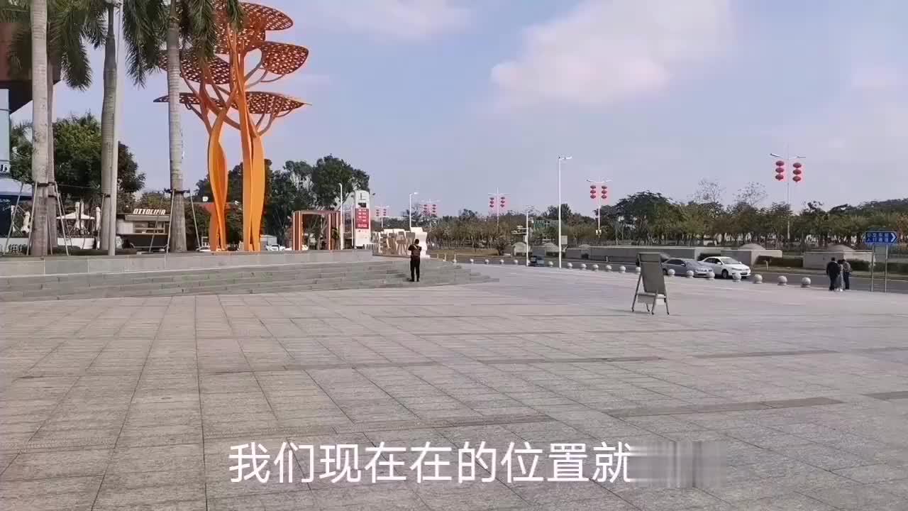 深圳欢乐海岸一个不起眼的地方但是吸引了很多人过来