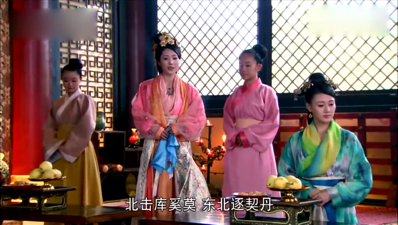 兰陵王正在选妃,杨雪舞却被推了进去 这场面不是一般的震撼