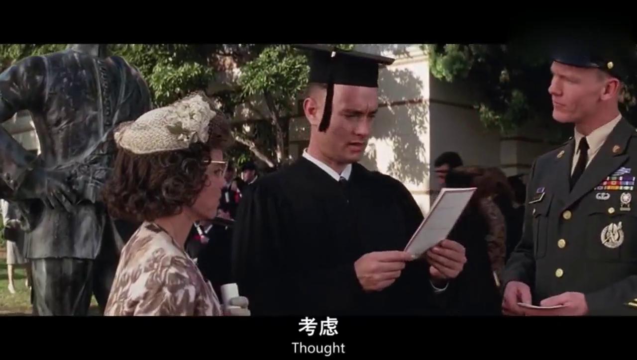 阿甘正传 阿甘大学毕业后跑去当兵结实了热爱捕虾做虾的黑人兄弟