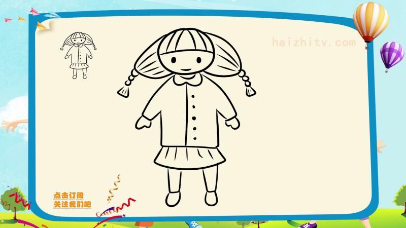 节日简笔画之儿童节主题简笔画 简笔画 儿童节 节日 新浪网