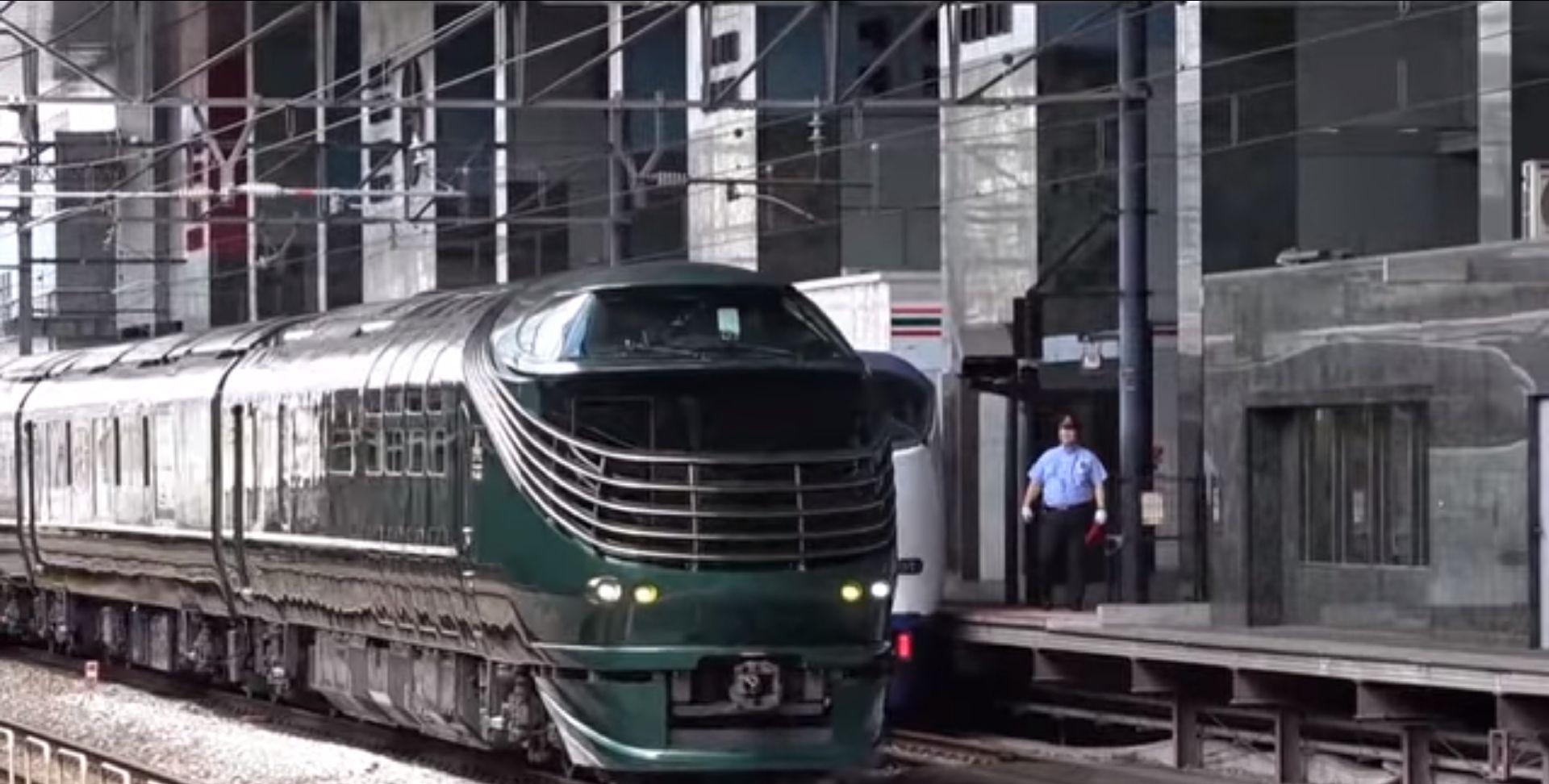 日本JR的豪华星级酒店式观光旅游列车