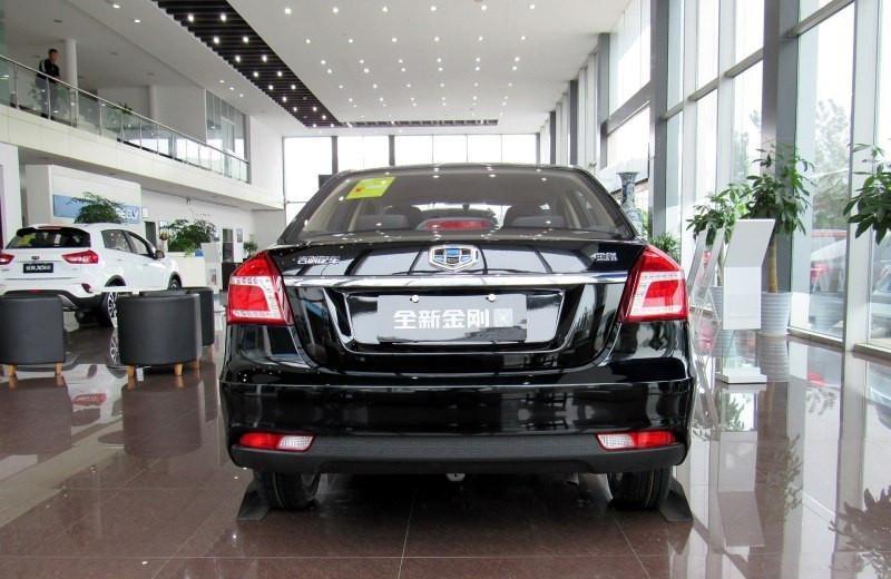 售价仅为4.39万元的轿车, 吉利金刚新款车型全新上市!