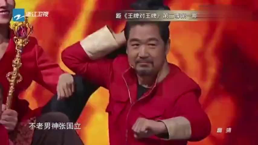 王祖蓝请到功夫瑜伽剧组成龙大哥也有嘴瓢的时候啊