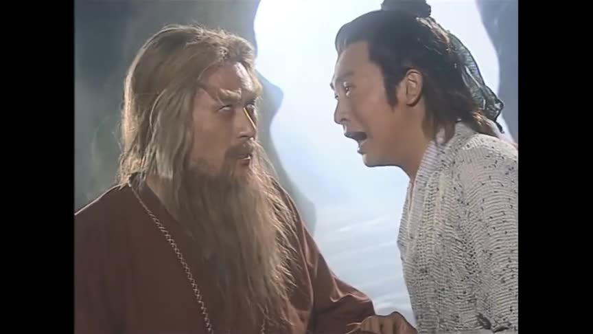 张无忌与义父金毛狮王终于相认,两人含泪回忆往事,感人了