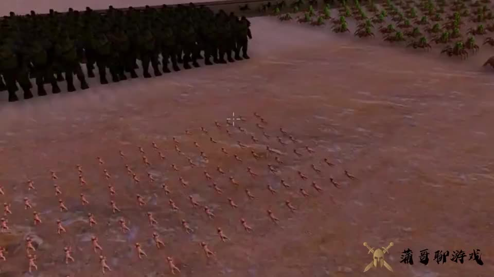 战争模拟器婴儿挑战怪兽绿巨人外星蜘蛛和毁灭者奇迹般成功了