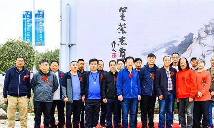 国画家吴荣杰写意敦煌作品展在敦煌画院成功举办