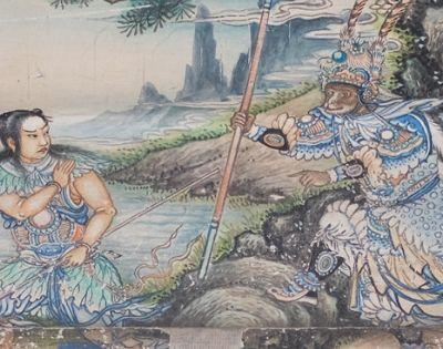 颐和园长廊彩绘中的西游记故事欣赏,你看过了吗?