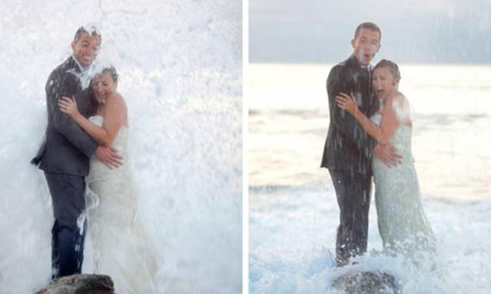 婚礼当天,能发生多尴尬的事?这组照片告诉你