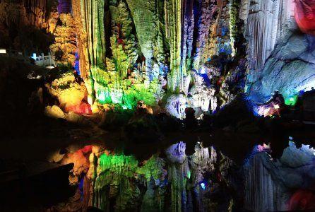 桂林溶洞,美景摄影