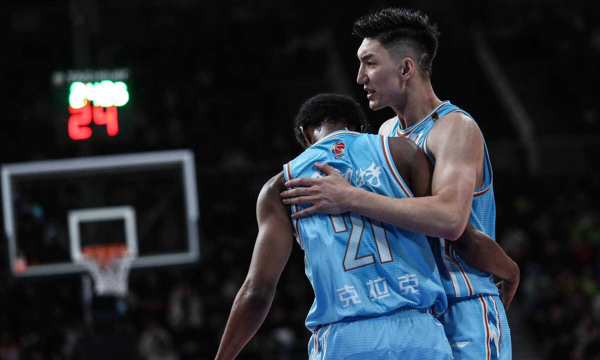 篮球——常规赛:辽宁本钢不敌新疆伊力特(2)