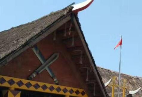 瑞丽大等喊民族村——位于瑞丽市南20多公里处