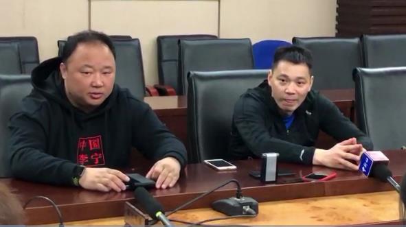 国羽教练组明确三大任务 林丹谌龙站好最后一班岗