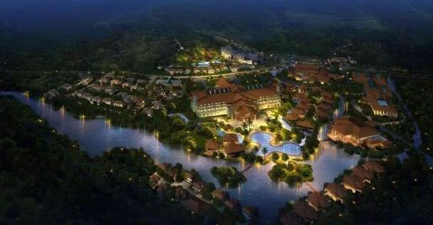 在润扬溪谷的山涧中,酒店仿佛一个隐世的美好家园,去度假吧