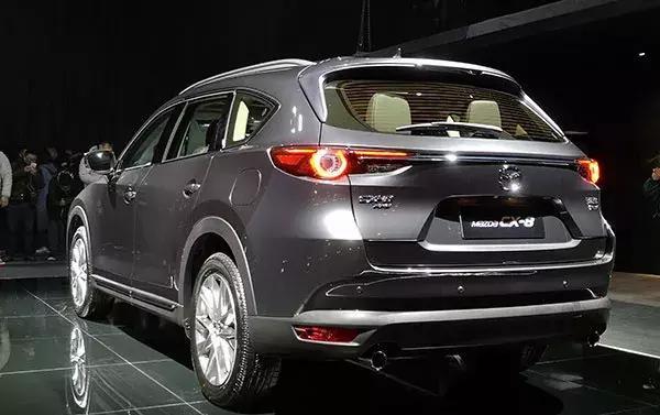 25.88万元起,马自达CX-8终于迎来上市